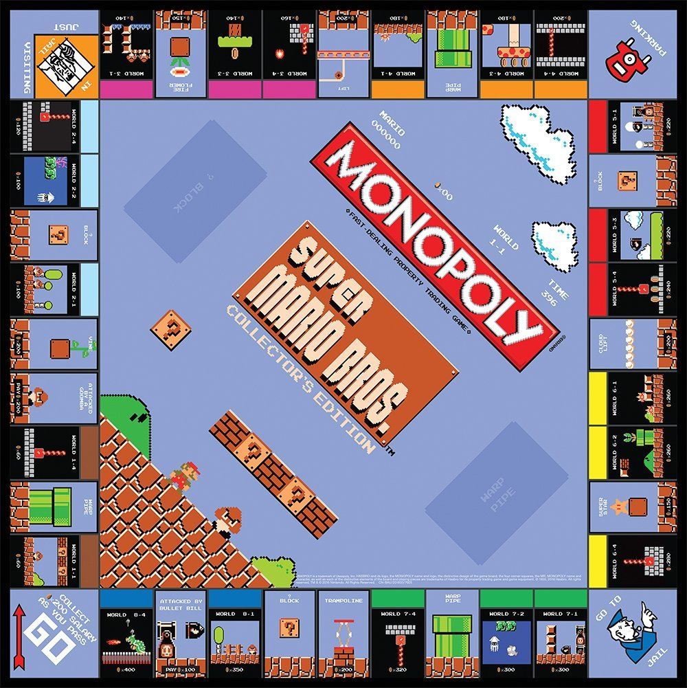 plateau monopoly super mario bros