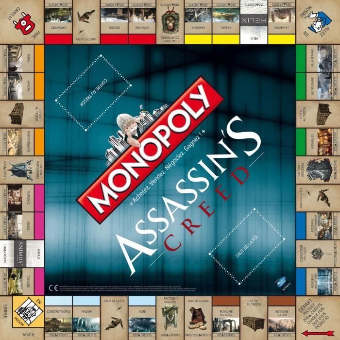 monopoly assassin's creed plateau