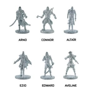 monopoly assassin's creed pions