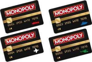 carte Monopoly Ultimate Banking